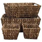 Brown Rush Baskets